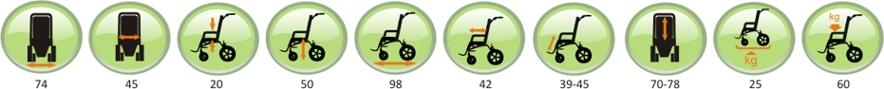 balian wózek spacerówka dla dzieci niepełnosprawnych gemini iii